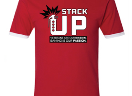 Stack Up Ringer Tee