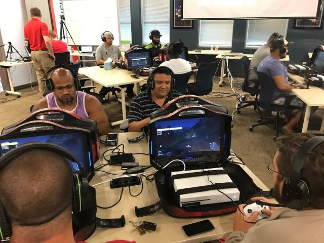 WWP, wounded warrior project, wounded, warrior, project, livefire, live, fire, event, redshirts, volunteer, veterans, gaming, oculus, rift, xbox, gaems, michael, linnington, general, CEO