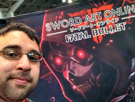 Sword Art Online – Going Hands-On with Fatal Bullet at ANIME NYC