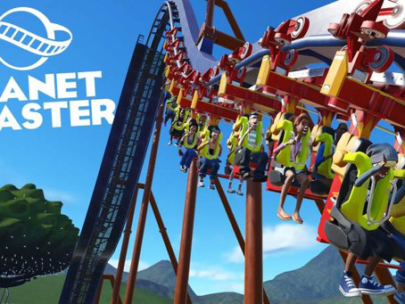 planet coaster a day at the park