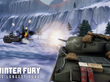 Tank Combat Game Winter Fury: Longest Road Heads to the Frontlines