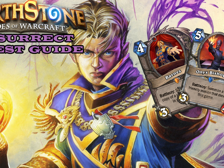 hearthstone standard resurrection priest deck strategy guide