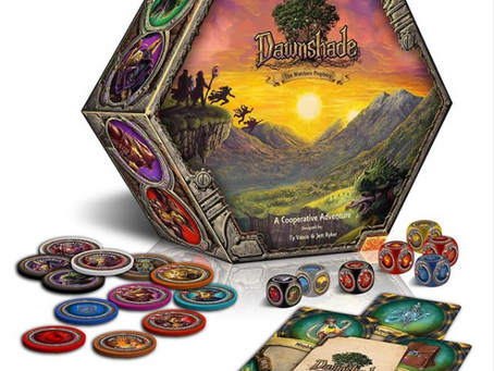 Boardgame Review: Dawnshade Dreamhack 2020