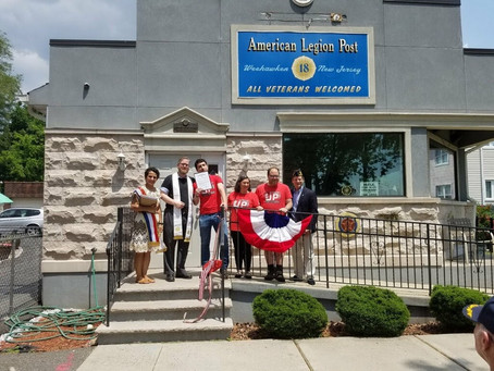 The Stacks – Queens Stacks Up for the Reopening of Weehawken American Legion Post 18