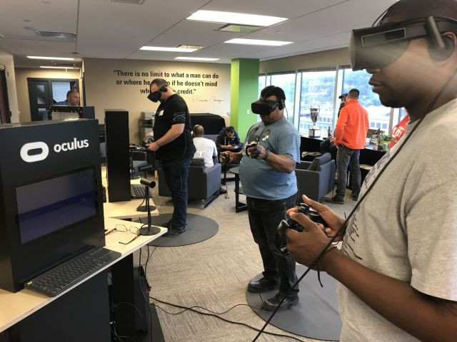 wwp, wounded warrior, project, stack-up, video games, gaming, oculus, rift, vr, virtual reality, pittsburgh, office, GAEMS, gears of war, titanfall, veterans, alumni, alumnai, alumnus, vets, soldiers, marines, sailors,