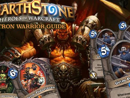 hearthstone patron warrior deck strategy guide