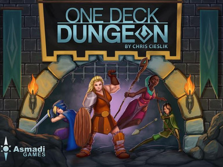 One Deck Dungeon – Hands on at PAX Unplugged!