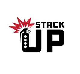 Stack Up Logo Black Red Flash.png