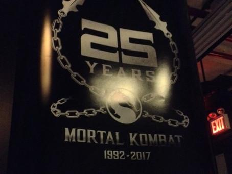 Mortal Kombat Celebrates 25 year Anniversary at NYC Barcade