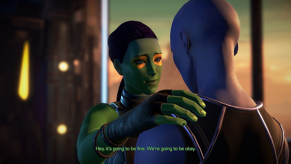 Telltale GOTG More Than a Feeling Screenshot Gomora