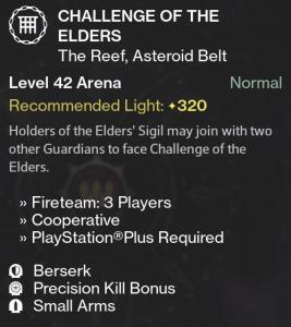 Challenge of Elders