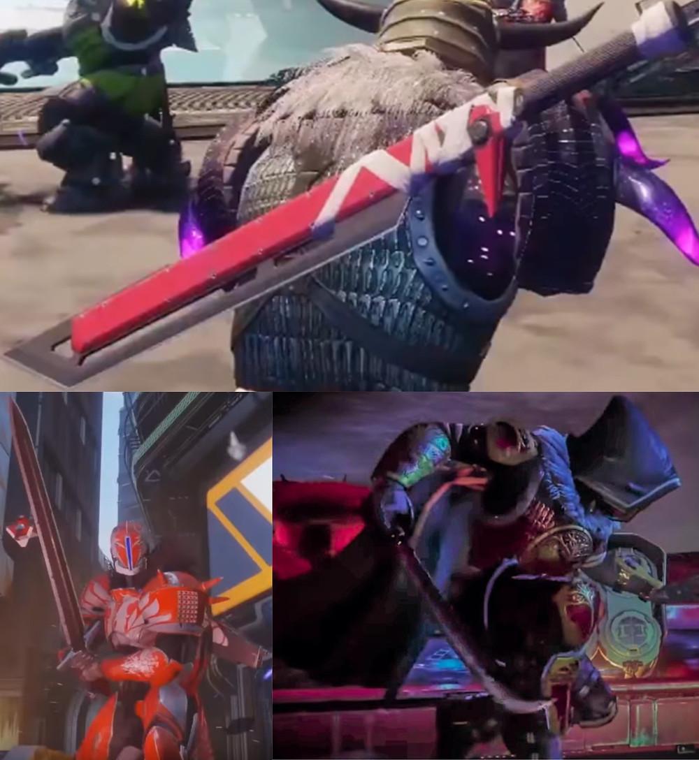 Destiny 2 Swords