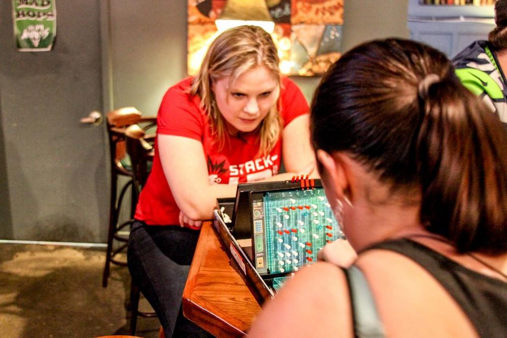 "Stephanie ""fannyfaceplant"" Fulmer takes on Paula in an intense game of Battleship!"