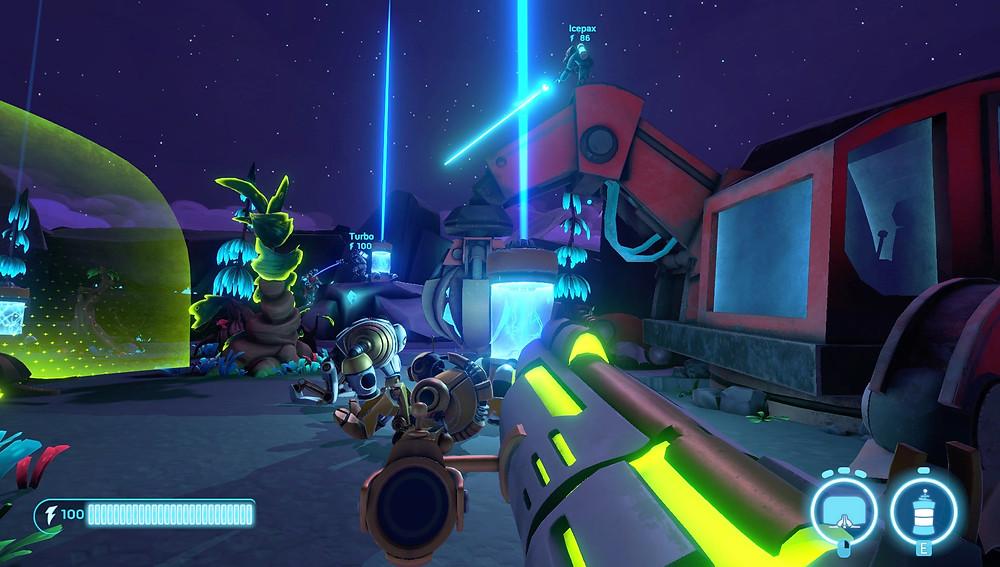 Aftercharge Screenshot Defenders Fallen Robots