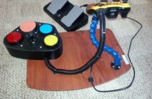 Warfighters Engaged Controller With Stand