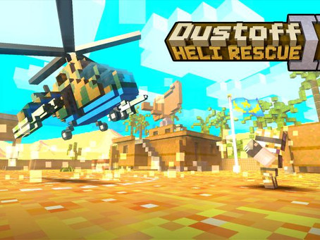 Dustoff: Heli Rescue II – Out Now on PlayStation 4