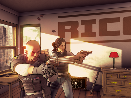Buddy-cop FPS RICO arriving in March