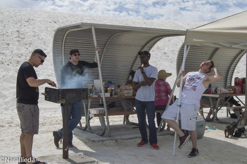 BBQ March Event1