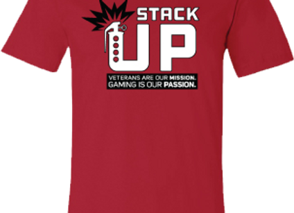 Stack Up Uniform Red Shirt