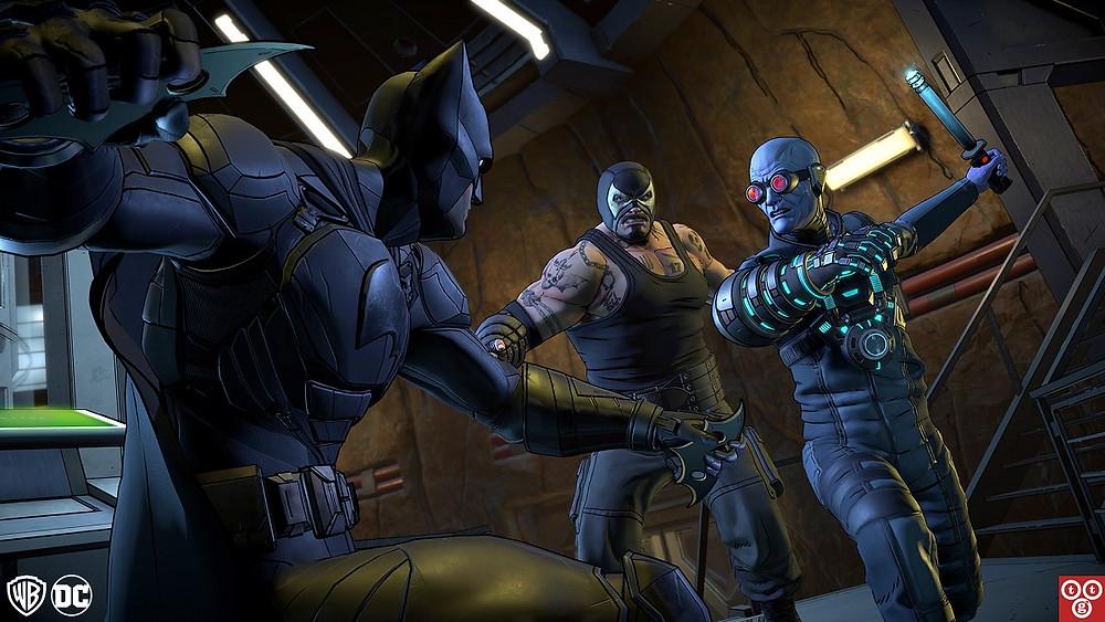 Telltale Batman TEW Bane Freeze Fight