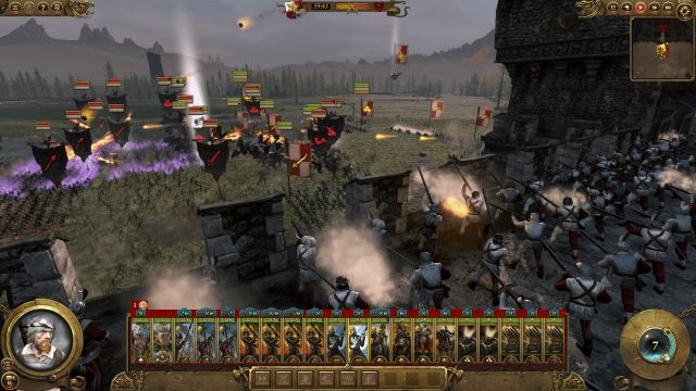 total war, warhammer, games workshop, creative assembly, review, preview, build, press, early, chaos warriors, vampire lords,