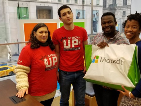 The Stacks – Queens Stacks Up with Microsoft!