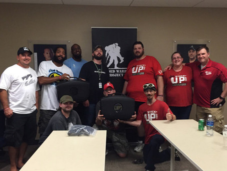 stacking up with the wounded warrior project in pittsburgh