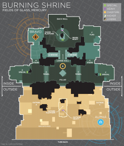 Burning Shrine  Call out Map