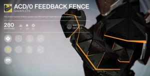 ACD 0 Feedback Fence