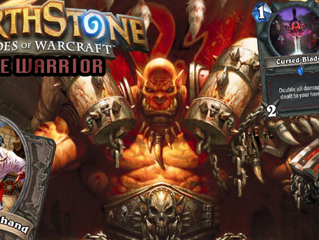 hearthstone face warrior deck and strategy guide