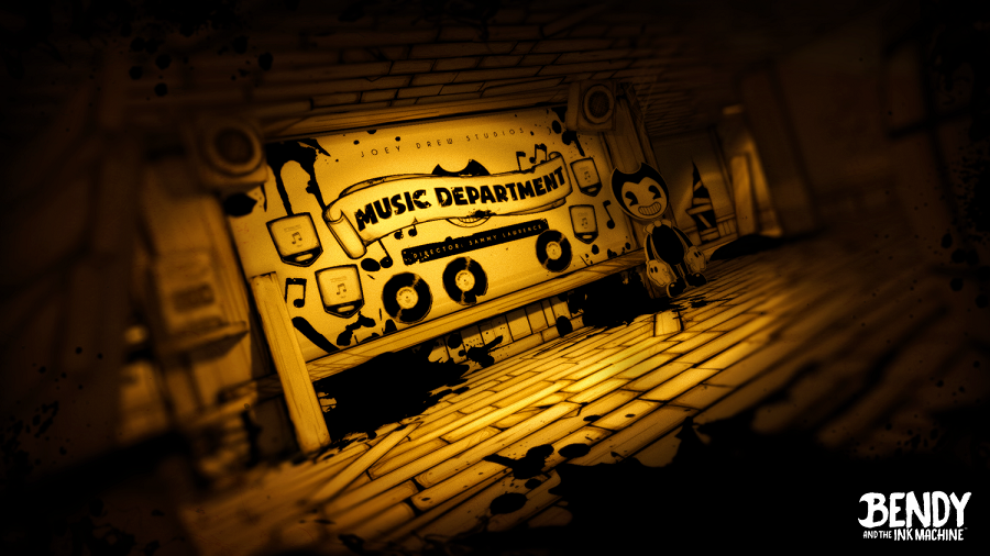 Bendy and the Ink Machine Chapter 2 Music Dept.