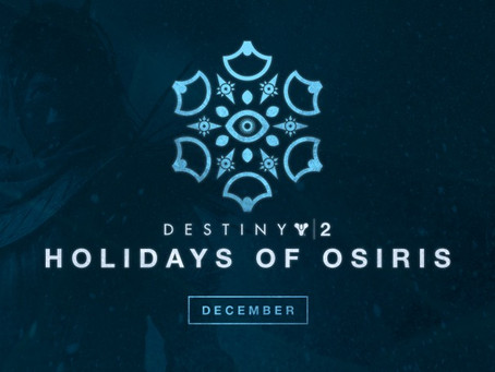 Holidays Of Osiris – Your Chance to Raid with the Destiny Dev Team!