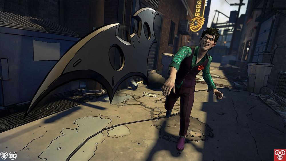 Telltale Batman TEW Joker Batarang