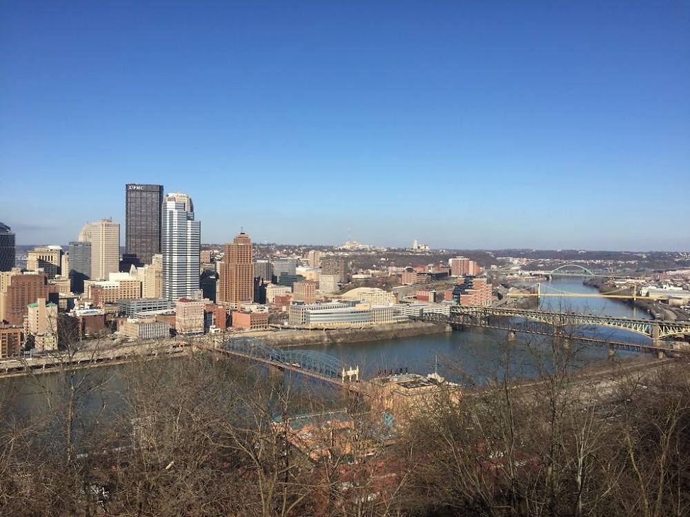 View of Pittsburgh from Mt. Washington.