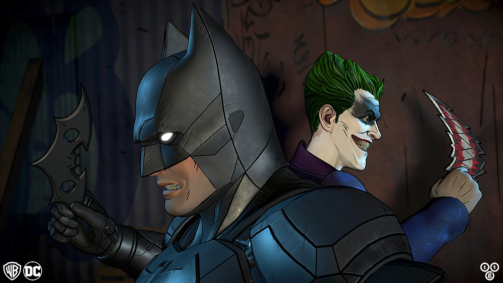 Telltale Batman TEW Batman Joker Batarangs