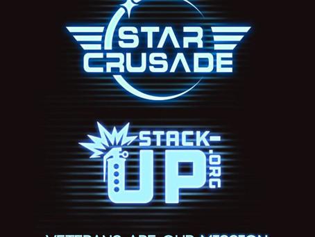 star crusade helps kick off call arms