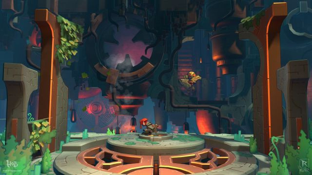 hob, runic, games, review, torchlight, wonder, russell, action, RPG
