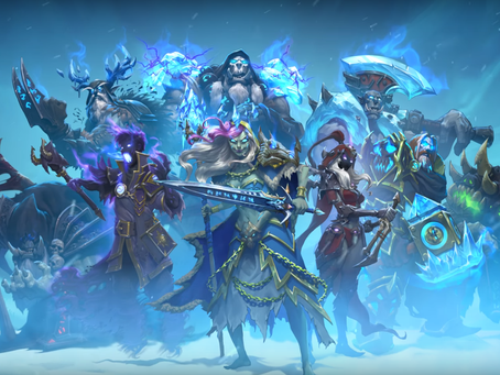 Hearthstone: Knights of the Frozen Throne Expansion Revealed