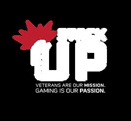 Stack Up Logo White Red Flash Tagline.pn