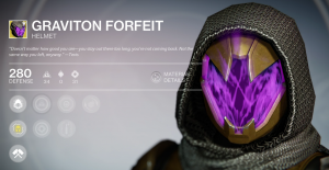 Graviton Forfeit