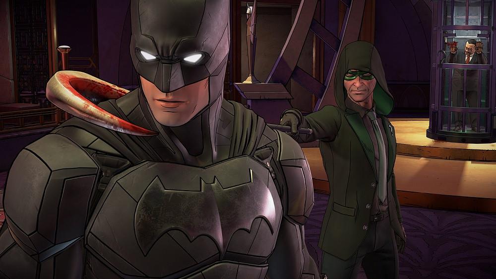 Telltale Batman: The Enemy Within Riddler