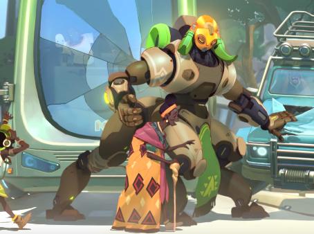 Overwatch Introduces New Hero Orisa
