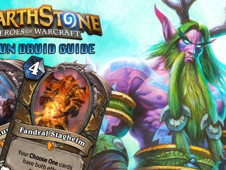 hearthstone standard cthun druid deck strategy guide