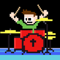 8bit Drummer
