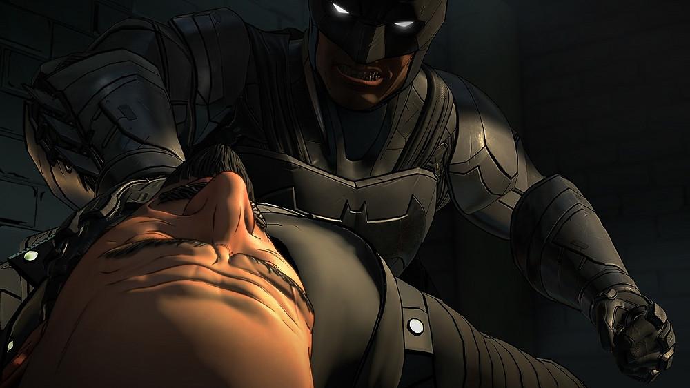 TellTale Batman: The Enemy Within Interrogation