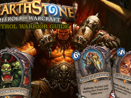 hearthstone control warrior deck and strategy guide