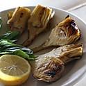 Plain Baked Artichoke