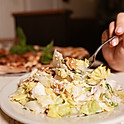 Escarole Salad (with walnuts)