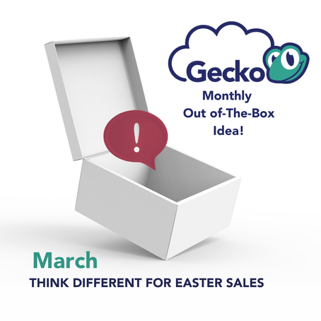 THINK DIFFERENT FOR EASTER SALES