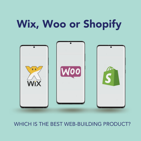 Wix, Woo for Shopify for business, which is best?